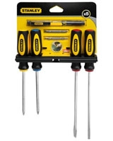5 Pieces Screwdriver X5 - Stanley