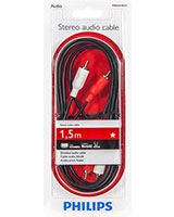 Stereo Audio Cable 1.5 M - Philips