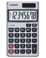 Pocket Calculator SX-300P - Casio