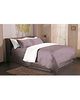 Fashion duvet cover 144 TC Sea fog color - Comfort