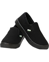 Unisex Slip On Black Shoes JY-CO7932 - Colors