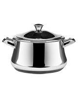 Stainless Steel Stewpot With Stainless Steel Handles - Zahran