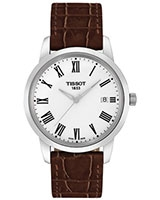 Classic Dream Leather Men's Watch T0334101601301 - Tissot