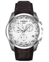 Mens Couturier Quartz Chronograph GMT T035.439.16.031.00 - Tissot