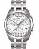 Mens Couturier Quartz Chronograph Watch T035.617.11.031.00 - Tissot