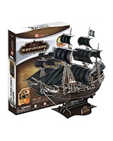 The Queen Anne's Revenge 3D Puzzle 155 Pieces - Cubic Fun