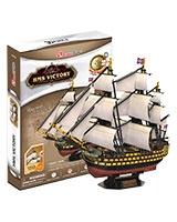 HMS Victory 3D Puzzle 189 Pieces - Cubic Fun