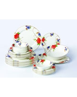Dinner Set Porcelain 26 Pieces TI-004 - Home