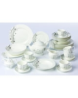 Dinner Set Porcelain 37 Pieces TI-008 - Home