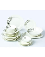 Dinner Set Porcelain 26 Pieces TI-011 - Home
