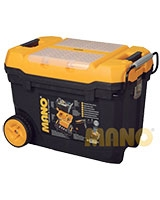 Mobile Tool Chest With Metal Latch 70 cm - Mano