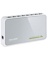 8-Port 10/100Mbps Desktop Switch TL-SF1008D - TP Link