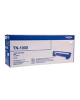 Toner Cartridge Black 1000 Pages TN1000 - brother