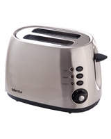 Toaster full stainless steel body TO21205A - Mienta