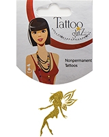 Glitter Tattoo Gold Color Feary