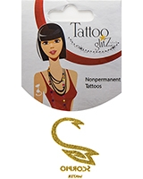 Glitter Tattoo Gold Color Zodiac/Scorpio