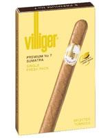 Premium No.7 Sumatra 5 Cigars - Villiger