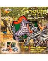 Origami Colored Paper Craft Wild Life 1