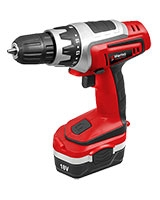 Cordless Drill 18V with additional battery - Wema