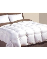 Quilt poly down filling 210 TC white Shell - Comfort