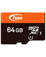 Micro SDXC UHS-1 64GB Memory Card - Team