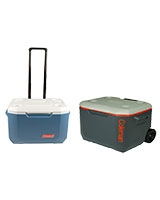 Xtreme Wheeled Cooler with Telescope Handle - Coleman
