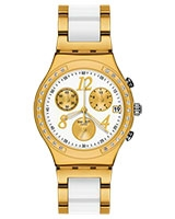 Ladies' Watch Dreamwhite Yellow Chronograph YCG407G - Swatch