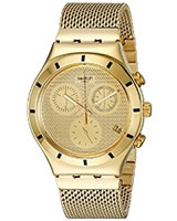 Men's Watch Irony Chrono Golden Cover L Chronograph - Swatch