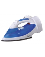Steam iron with cord rewind - Life
