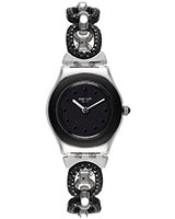 Ladies' Watch Black Glitter YSS293G - Swatch