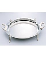 Round Stainless Steel Tray 38*30 cm - Home