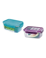 Neo Rectangle Plastic Container 630 ml - Lock & Lock