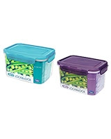 Neo Rectangle Plastic Container 1.5 Liter - Lock & Lock