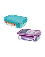 Neo Rectangle Plastic Container 1.4 Liter - Lock & Lock
