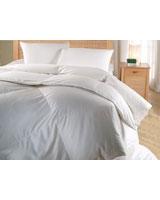 Winter cluster quilt plain white shell - Comfort