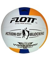 Laminated PVC volleyball White FVO-0222 - Flott