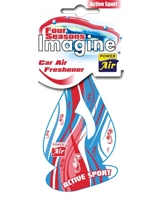 Air Freshener Four Seasons Imagine Active Sport - Power Air