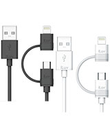 2-in-1 Lightning Cable With Micro USB - iLuv