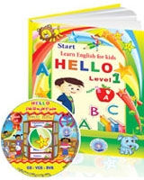 Hello 1 CD + Book
