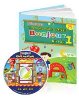 Bonjour 1 CD + Book