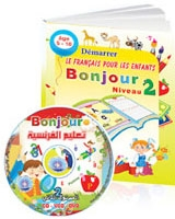 Bonjour 2 CD + Book