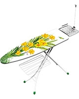 Ironing Table Prestige Yellow Flowers YS107 - Gimi
