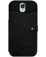 Galaxy S4 Hardshell Case SS4MODEBK - iLuv