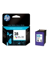 HP 28 Tri-color Inkjet Print Cartridge (C8728AE)